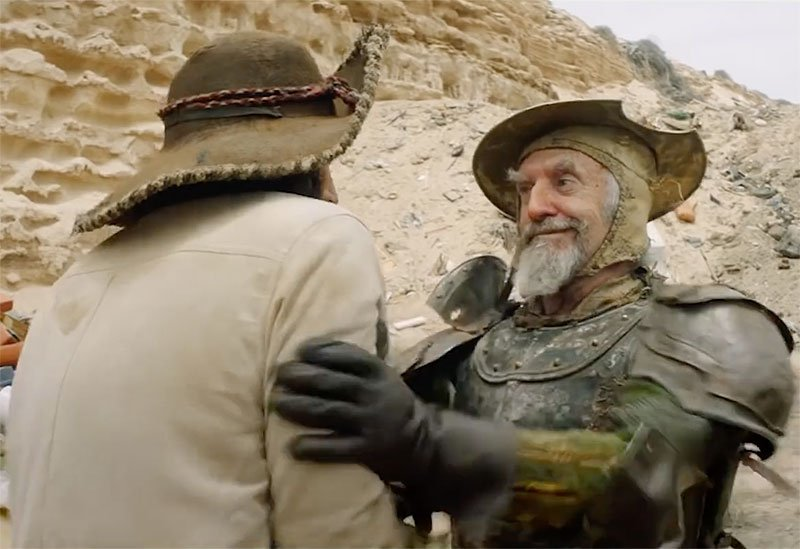 New Trailer Released for Terry Gilliam's The Man Who Killed Don Quixote