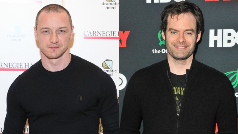 Bill Hader, James McAvoy Being Courted for Stephen King's 'It' Sequel