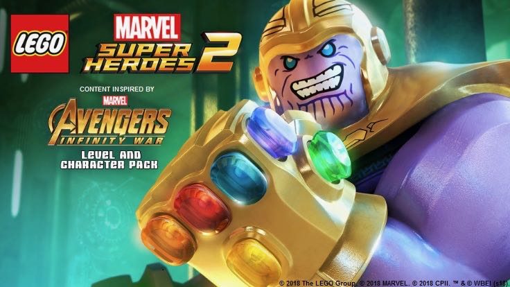 LEGO Marvel Super Heroes 2 Gets Infinity War DLC
