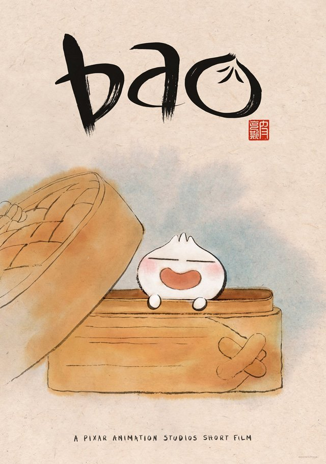 New Poster & Clip for Pixar's Animated Short Bao Released!