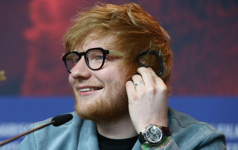 Sheeran calls the tune in Beatles film