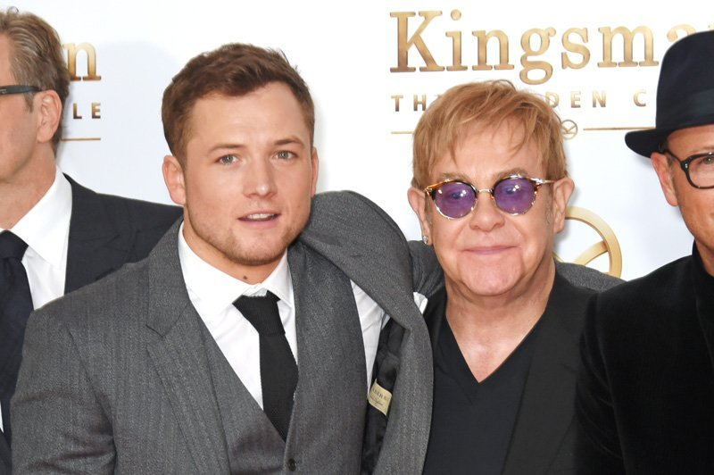 Taron Egerton to play Elton John in biopic