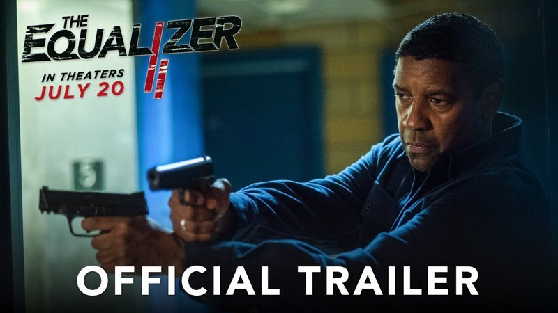 The Equalizer 2: the first trailer lands