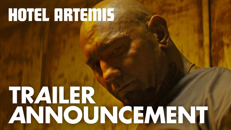 First Look at Action-Thriller Hotel Artemis, Opening June 8