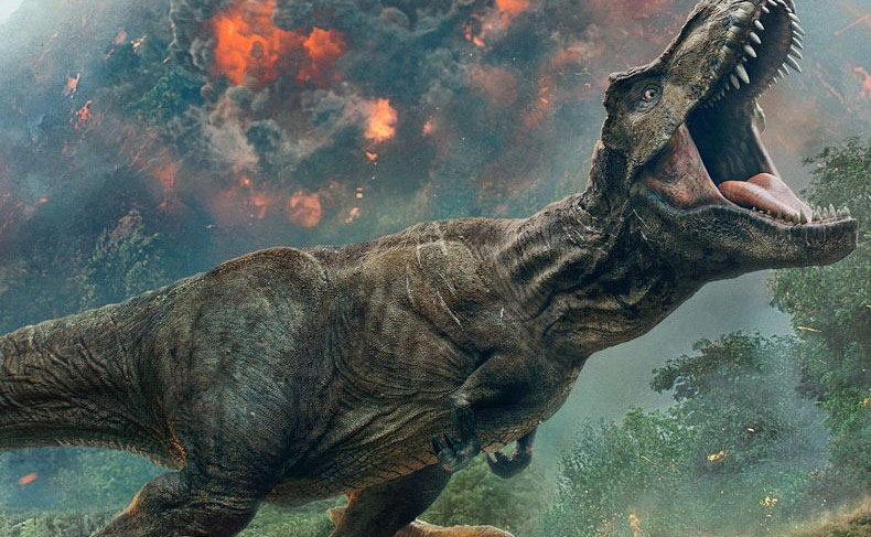 New Jurassic World: Fallen Kingdom Poster Revealed!