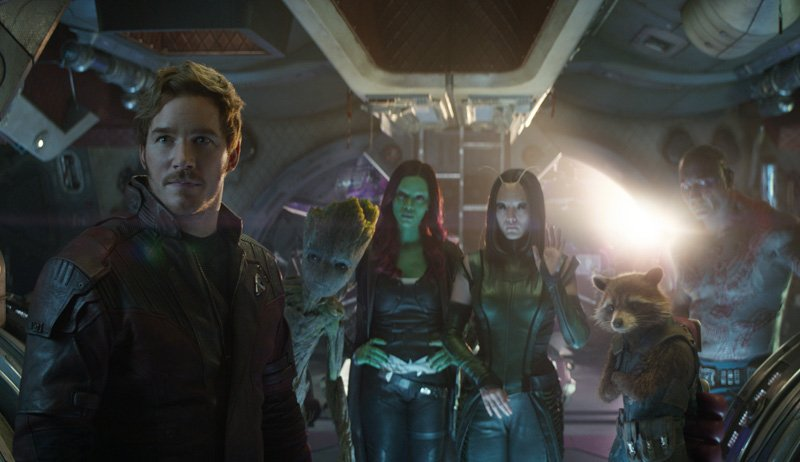 Star-Lord Mocks Thor in a New Avengers: Infinity War Spot