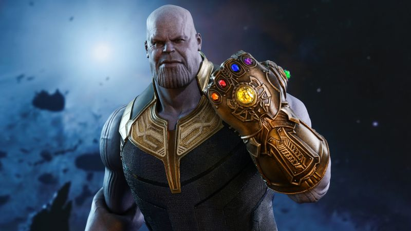 Thanos Hot Toy is Here for All the Tiny Infinity Stones
