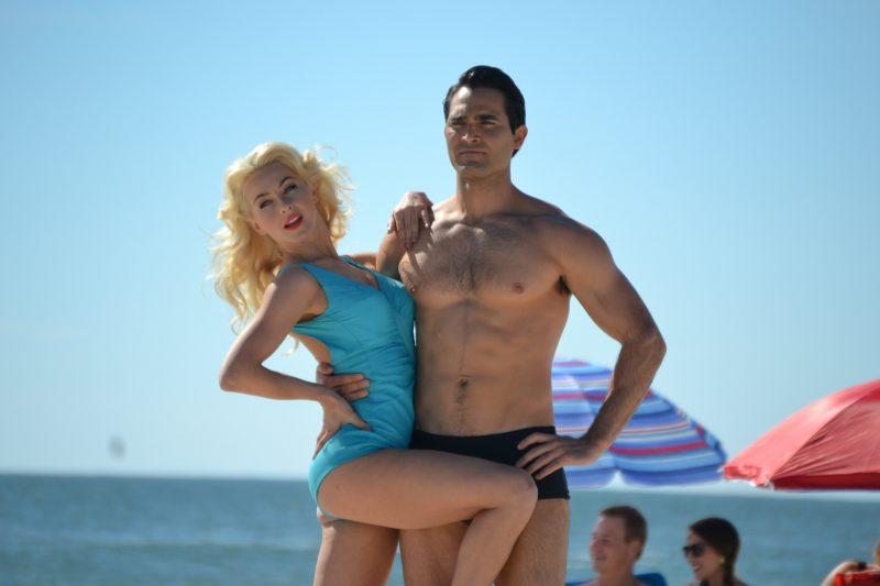 First Look: Julianne Hough and Tyler Hoechlin Hit the Beach in Bigger