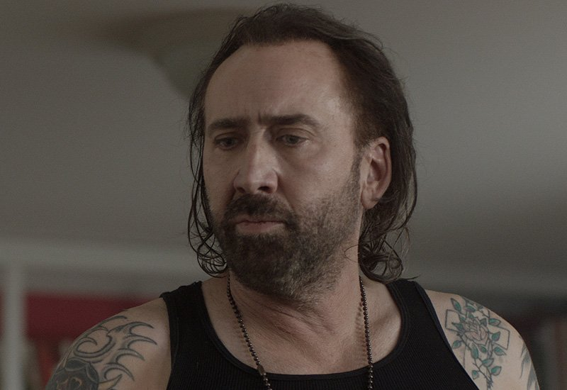 First Between Worlds Photo With Nicolas Cage