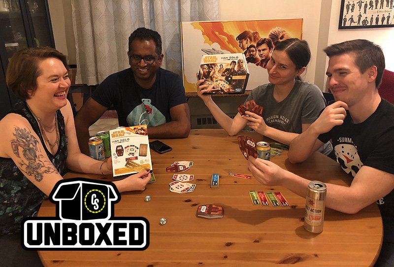 CS Unboxed Plays Sabacc: Hasbro's Han Solo Card Game