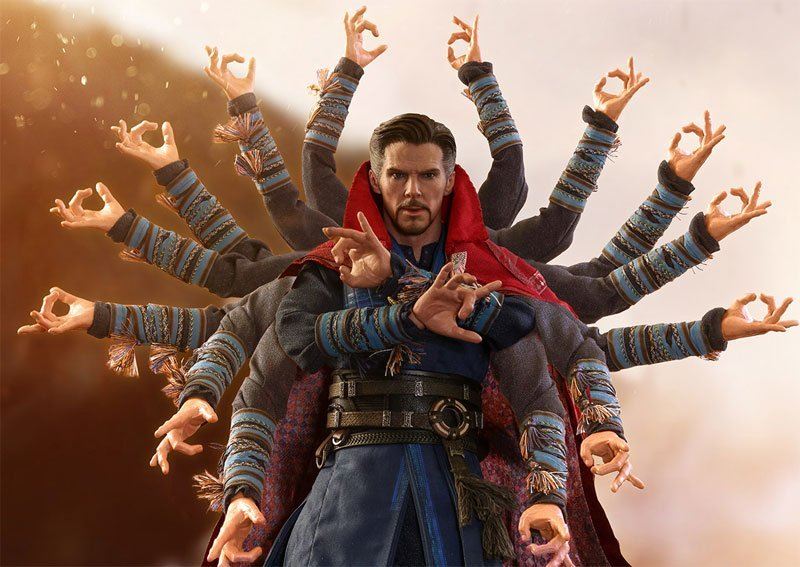 Doctor Strange Hot Toys Infinity War Figure Revealed