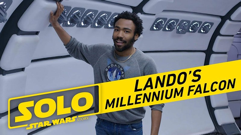 Tour the Millennium Falcon with Donald Glover in New Featurette!