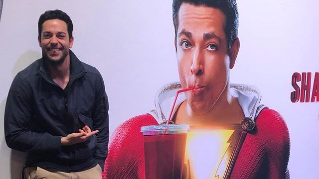 First Official Look at Zachary Levi as Shazam!
