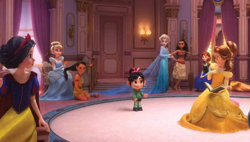 Disney Princesses Unite in New Wreck-It Ralph 2 Image