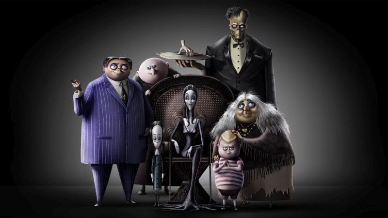 First Look at the New Animated Addams Family Movie!