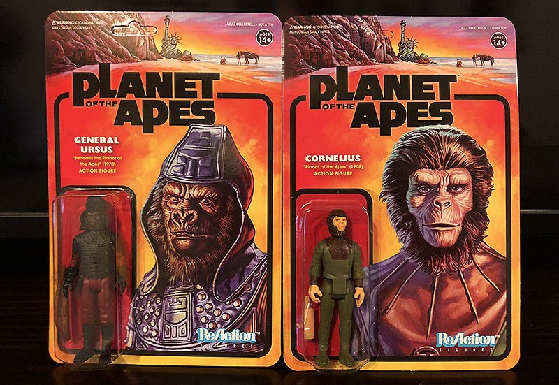 Super7 Planet of the Apes ReAction Figures Unboxing Gallery