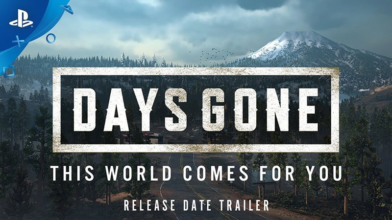 This World Comes for You in PS4's Days Gone Trailer