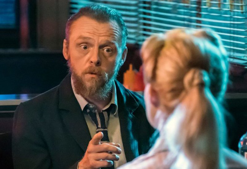 Simon Pegg Talks Terminal and More Edgar Wright Movies