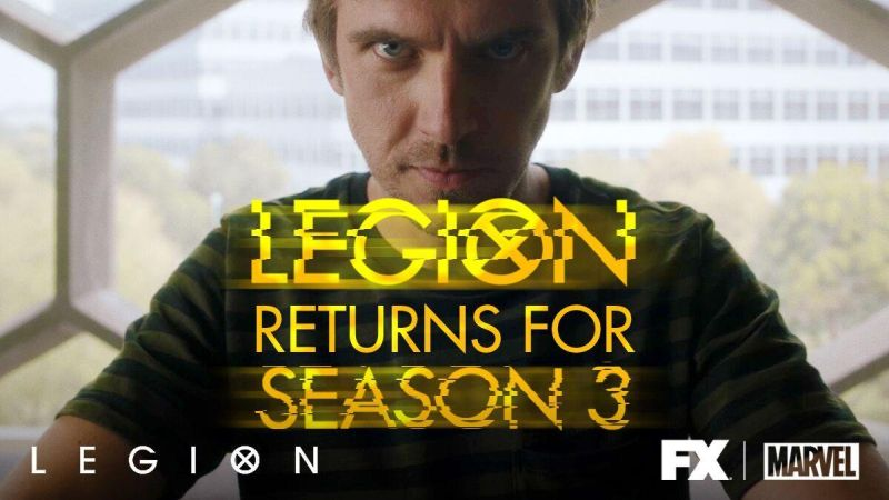 Legion Renewed for Season 3!