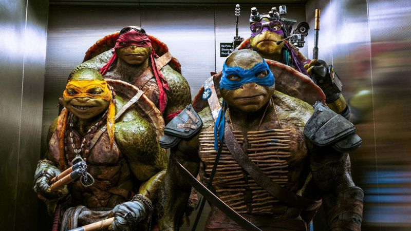 Paramount Rebooting the Teenage Mutant Ninja Turtles Filmverse - Again