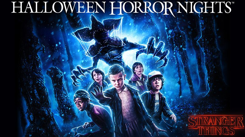 Stranger Things Halloween Horror Nights Maze First Look image debuts