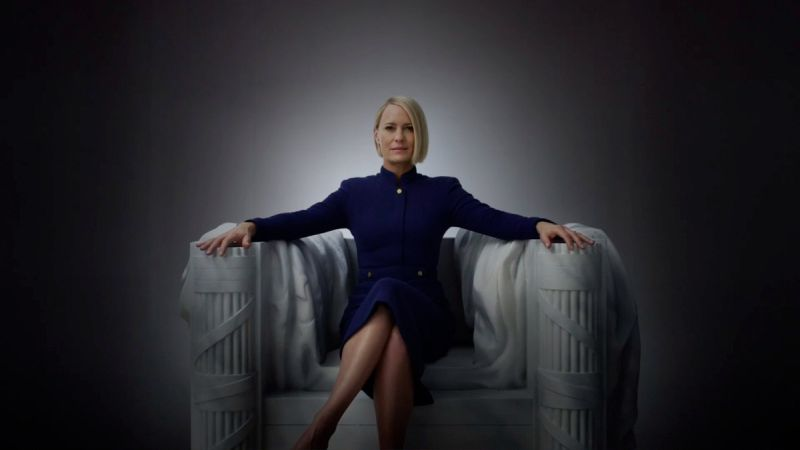 Claire Underwood Celebrates Independence Day in House of Cards Teaser