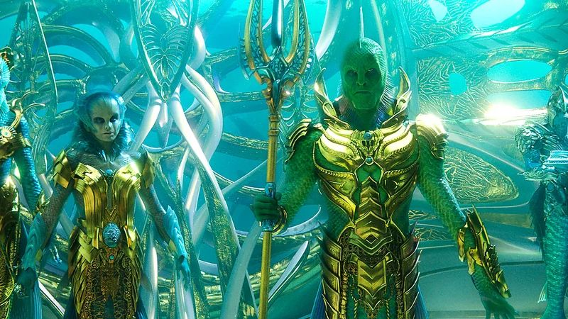 First Look At Djimon Hounsou As Aquaman's Fisherman King