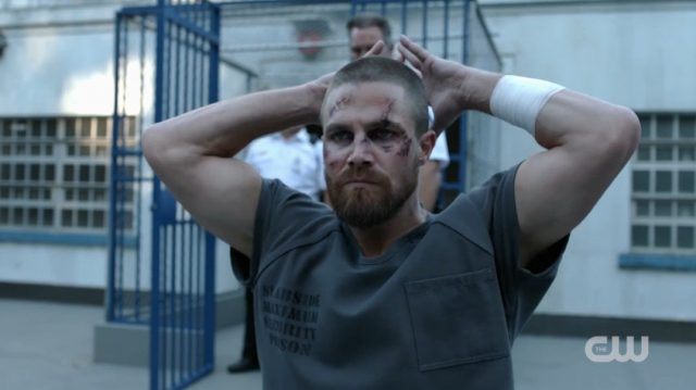 Oliver Gets Into a Prison Fight in the New Arrow Season 7 Teaser