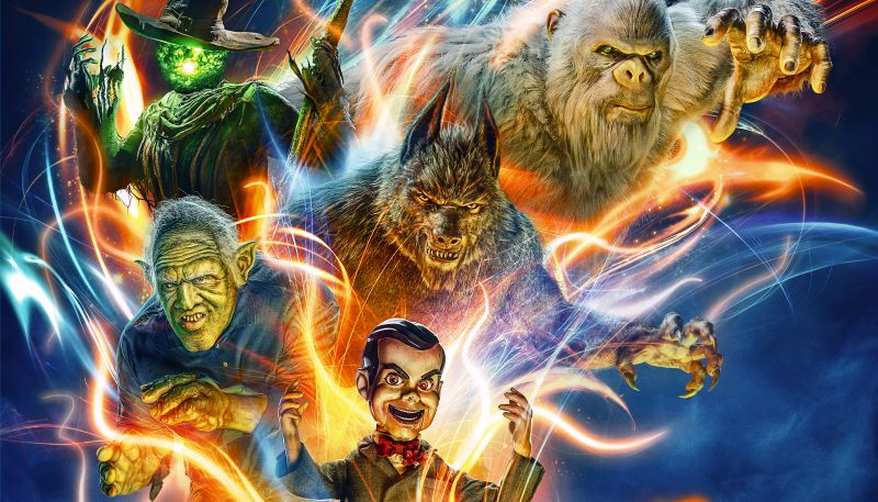 'Goosebumps 2' trailer invites you to a very 'Haunted Halloween'