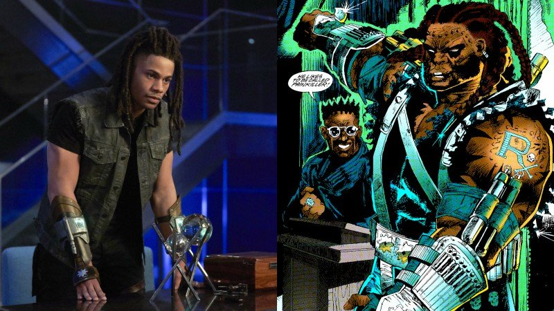 Jordan Calloway Upped to Series Regular as Black Lightning's Painkiller