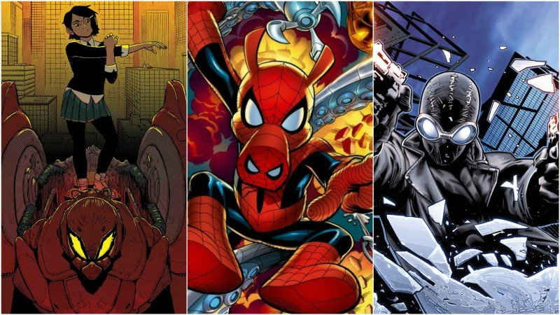 Comic-Con: Spider-Verse Movie Adds More Spider-Men to Its Roster