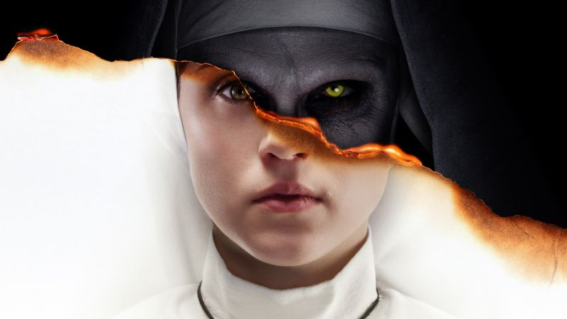 Pray the New The Nun Poster Doesn't Find You