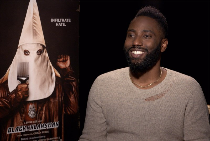 CS Video: BlacKkKlansman Cast With Washington, Harrier & Grace!