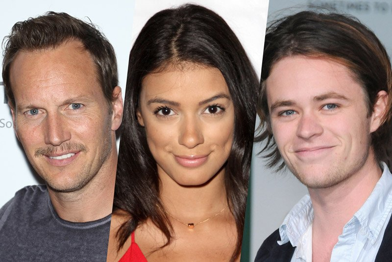 Patrick Wilson, Laysla De Oliveria, Harrison Gilbertson Board In the Tall Grass
