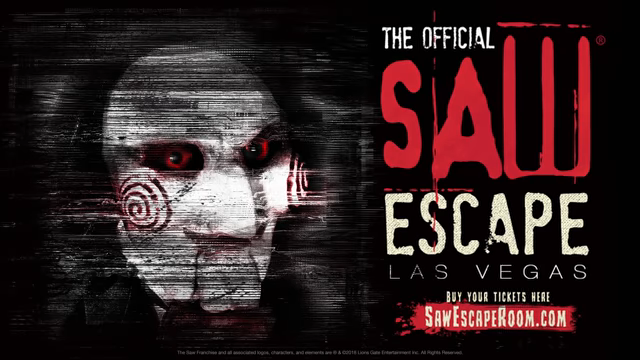 New Saw Escape Room Trailer for the Las Vegas Experience