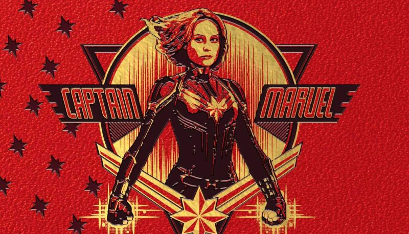 First Captain Marvel Promo Art Emerges