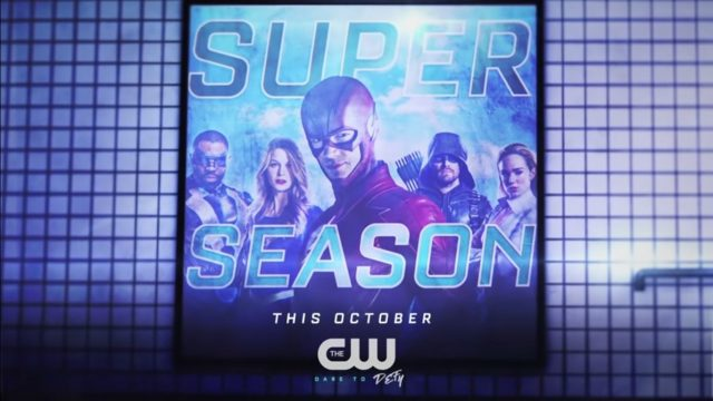 October is Super Season in New The CW: Superhero Subway Sizzle Promo