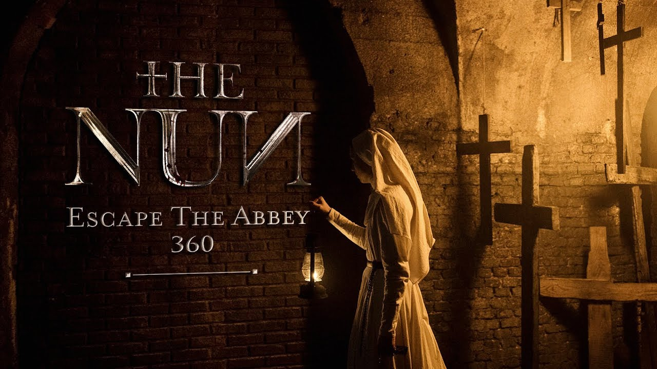 Escape the Abbey In 360 VR Video for The Nun