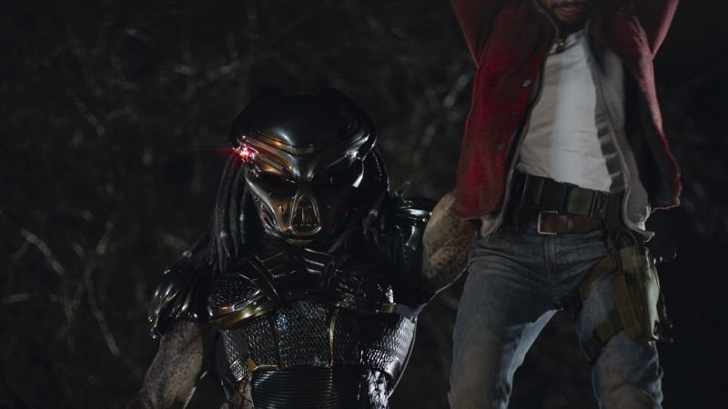 New The Predator Photos Have Been Revealed