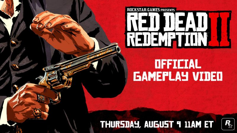 New Red Dead Redemption 2 Trailer Premieres Tomorrow