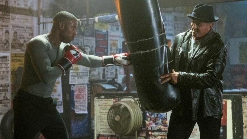 New Creed II Photos: Adonis and Rocky Return