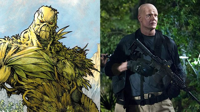 Derek Mears May Be DC Universe's Swamp Thing