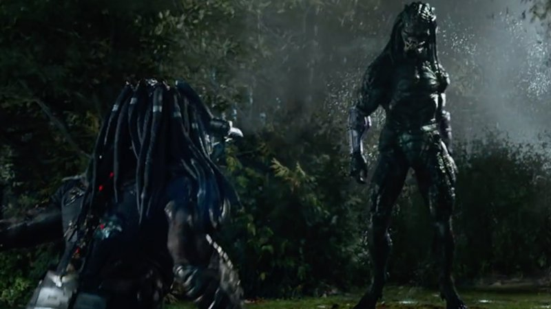 First The Predator Clip Features Old Versus New