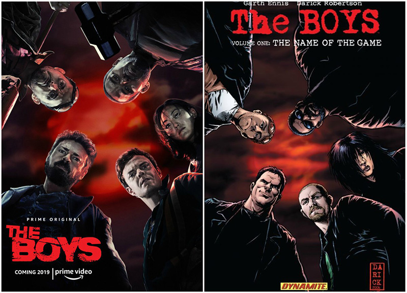 Amazon's The Boys Poster: The New Name of the Game