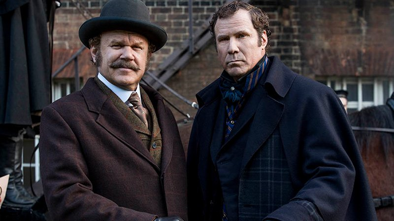 Will Ferrell & John C. Reilly's Holmes & Watson Trailer and Photos Released