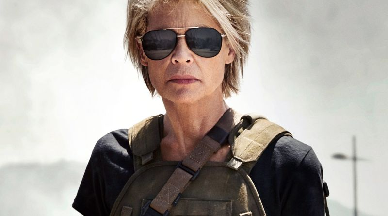 Arnold Schwarzenegger and Linda Hamilton Reunited on Terminator Set