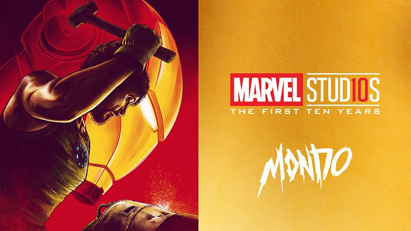 Mondo Gallery Celebrating Marvel Studios: The First Ten Years