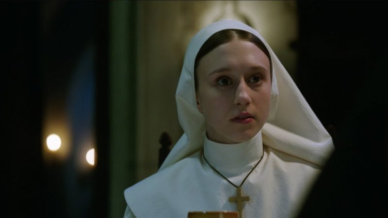Feel the Tension in These New The Nun Clips