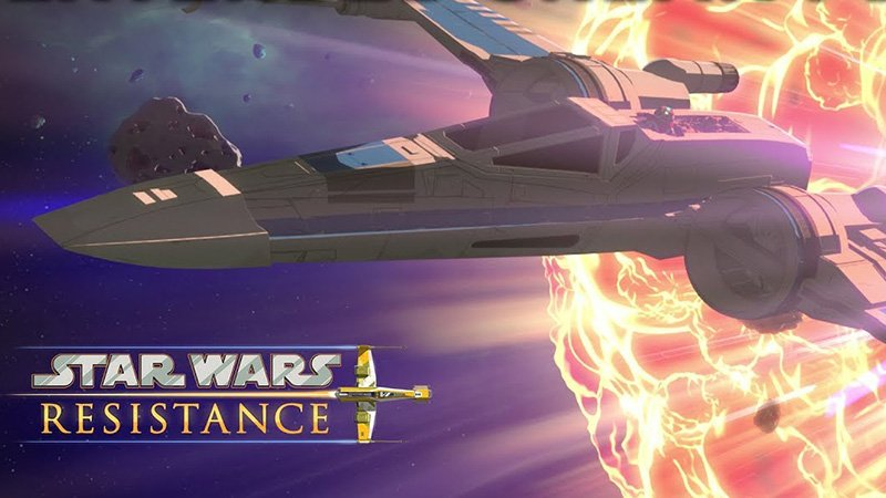 Star Wars Resistance Extended Sneak Peek Released