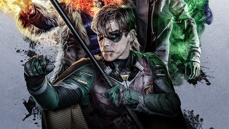 Titans Poster Reveals A Surrogate Family of Superheroes